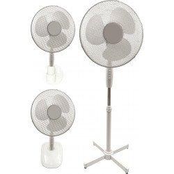 Ventilador 3 en 1, Bora, 40cm, blanco, de suelo/mesa/pared, Lba Home
