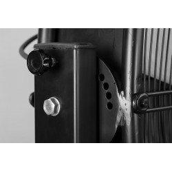 Ventilador industrial gigante, Big Stortm, 180cm, negro, motor de 1,5 Kv, alto rendimiento, Lba Hom.e
