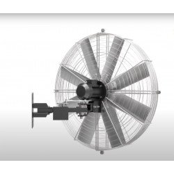 Ventilador de pared de alta velocidad/industrial, Pole Storm, 150cm, Lba Home