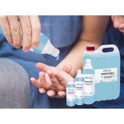 Caja de 15 botellas de gel hidroalcohólico de 250 ml, Purline.