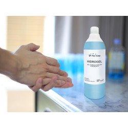 Caja de 12 botellas de gel hidroalcohólico de 500 ml, Purline
