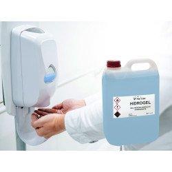 Bidón de 5 litros de gel hidroalcohólico, Purline