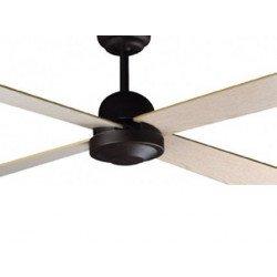 Ventilador de techo, moderno, 132 cm., marrón, Faro 33288 IBIZA
