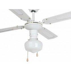 Ventilador de techo, blanco, clásico, con luz, 106 cm FARO Aruba 33121