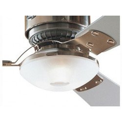 Kit Luminaire blanc pour loft chrome.