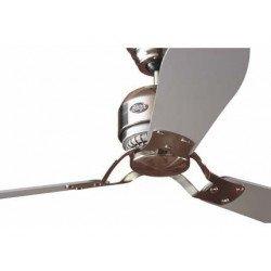 Ventilador de techo 132 cm. cromo HUNTER industrial