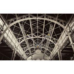 Ventilador de techo HVLS, DC Raptor HVLS RTDC8, industrial, 243 cm, para superficies de hasta 140m2, Klassfan.
