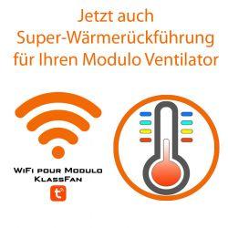 Controlador WiFi para Modulo de KlassFan. Para desestratificador y ventilador. Powered by Tuya Smart