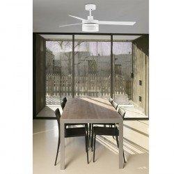 Ventilador de techo, diseño de 132 cm. lámpara de LED y control remoto ICE FARO Led 33459