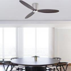 Ventilador de techo, DC, moderno, 132 cm. níquel mate, Faro NIAS 33472