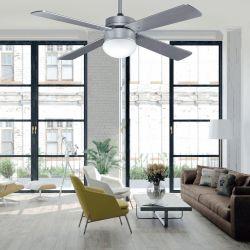 Ventilador de techo para ipX3 exterior, silencioso, de aluminio Hunter Outdoor Elements de 132 cm.