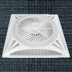 Ventilador, Turbina de techo, placa empotrada 60x60, ideal para falso techo, blanco, motor DC, Lba Home.