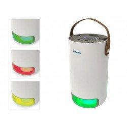 Purificador de aire HEPA, Fresh air 40, filtro de carbón activado, lámpara UV, Purline.