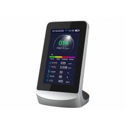Medidor de la calidad del aire, AIRTESTER PLUS WIFI , 8 funciones, control WIFI, Purline.