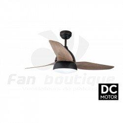 Ventilador de techo, Bell Rustic DC, 132cm, con luz, Lba Home.