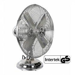 Mesa de ventilador, 100% cromado, aspas de 30 cm, con una potencia de...