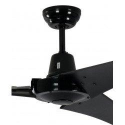 Ventilador de techo industrial negro 142 cm Pepéo