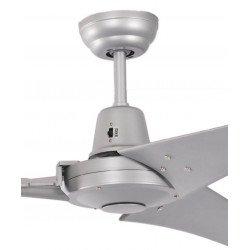 Ventilador de techo industrial plateado 142 cm Pepéo