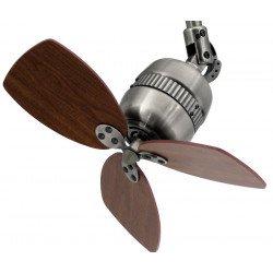Ventilador de techo aluminio cinc antiguo 46 cm – Pepeo Toldeo AM