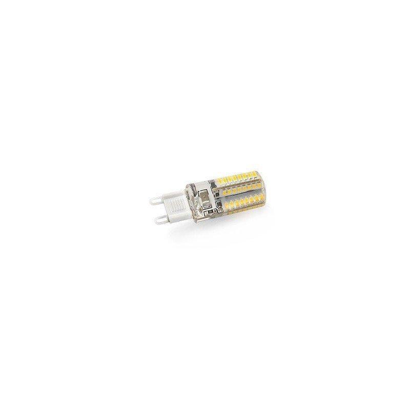 Paquete de 4 bombillas LED G9 3W 2900K-3300K