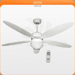 Ventilador de techo 132 cm con lámpara control remoto estilo contemporáneo ..
