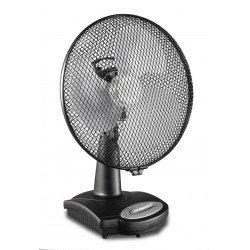 Ventilador de mesa, Casafan TV 36-II AZ 30 cm, silencioso con oscilacion.
