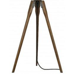 Ventilador de pedestal,Arden OB , 36,9 cm, nogal y bronce oscuro OB, con trípode, potente, silencioso, Casafan.