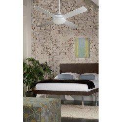 Ventilador de techo, moderno, de 122 cm.caja de control y luz