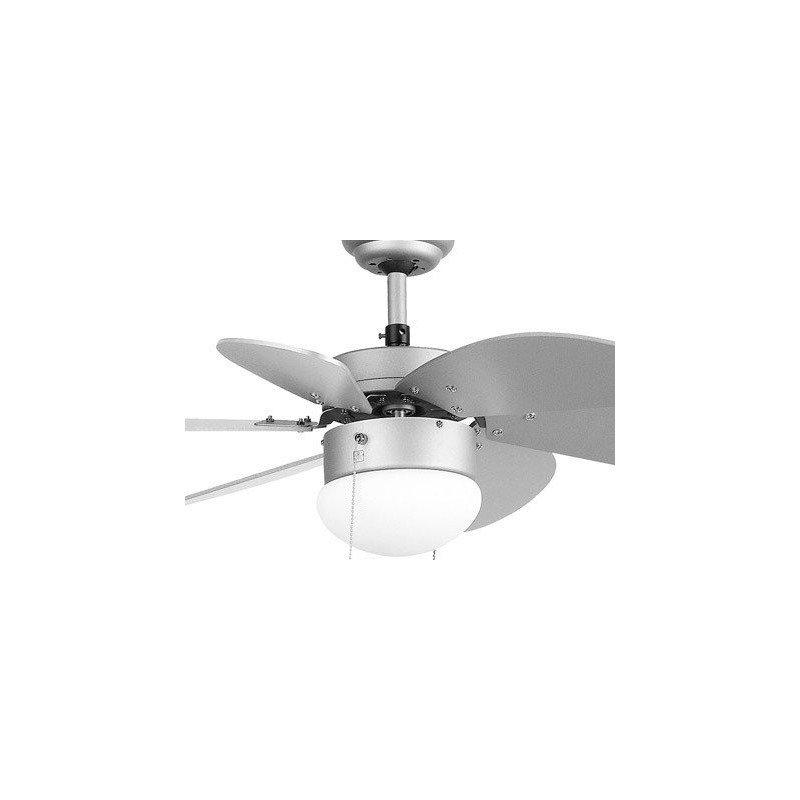 Ventilador de techo, color gris, 81 cm. con luz integrada FARO gris PALAO 33186