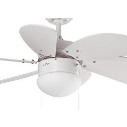 Ventilador de techo, color blanco, 81 cm. con luz integrada FARO blanco PALAO 33180
