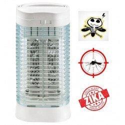 Destructor de insectos Z112 para 10 m², ultra eficiente, chupa mosquitos, antes de electrocutar!