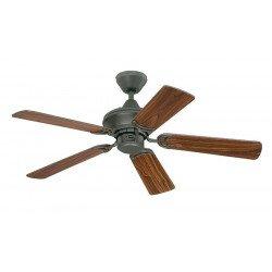 Ventilador de techo de 105 cm, aspas doble cara - cereza / roble