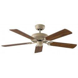 Ventilador de techo, latón, DC, Imperial, a personalizar usted mismo. CASAFAN 132 AW