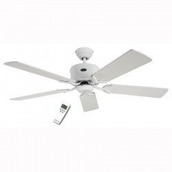Ventilador de techo DC 132 Cm, Eco Elements WE, lacado blanco aspas blancas