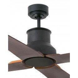 Ventilador de techo, Winche, DC, 130cm, IP44, para interiores y exteriores, moderno, Faro.