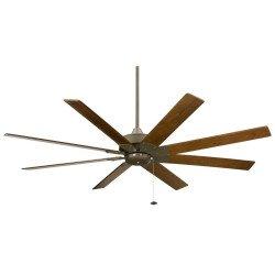 Ventilador De Techo De 160 Cm. LEVON Faimation Diseño moderno gran tamaño 8 cuchillas nogal garantía 25 años