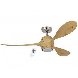Ventilador de techo, Eco flower, 142 cm, moderno, con luz LED, reversible, Casafan.