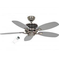 Eco Gamma ventilador de techo 103 cm Gris y blanco con mando ultra económico