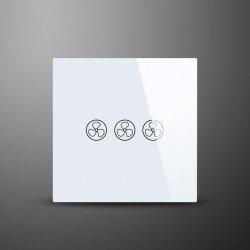 Control táctil de pared para ventilador de techo. ON/OFF y control velocidades