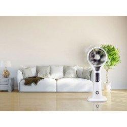 Nebulizador oscilante de 40 Cm y rejilla 3D 360 ° con control remoto, Purline Misty 3D eficiente y elegante.