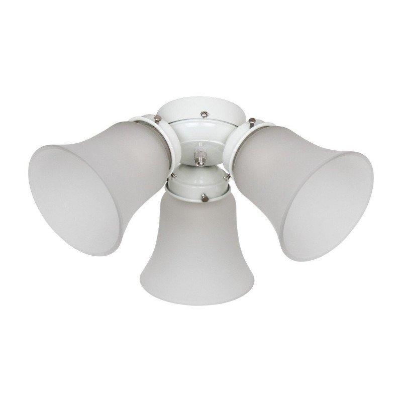 Kit de iluminación para ventilador de techo Hunter Classic, 1886, Salinas, Sevilla II, Savoy, versión Carrera WE