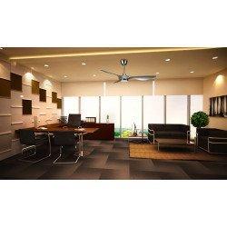 Helix de KlassFan, una serie limitada de ventiladores de techo, diseño de CC, más compacto, ultra potente, con placa LED