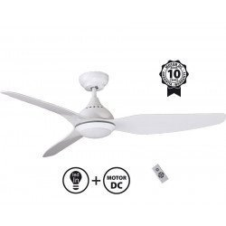 Tropic, inovacion de ultima generación de ventiladores de techo, diseño, más compacto, ultra potente LED