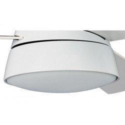 Ventilador Snowy de KlassFan , fabricado con motor AC, compacto, ultra potente, con luz