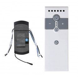 Control remoto IR, universal para ventilador de techo, ideal para LED y bombillas de bajo consumo