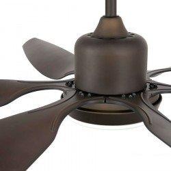 Ventilador de techo 168 cm. motor DC y con luz, FARO TILOS 33466