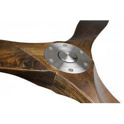 Ventilador de techo, diseño de 154 cm con aspas laminadas de nogal laminado TAURUS Meduim by LBA HOME