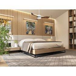 KlassFan Módulo- Ventilador de techo DC, elegante, moderno y muy silencioso para espacios de 25 a 40 m² DC4_P1Wo