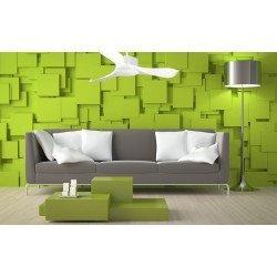 KlassFan Módulo- Ventilador de techo con motor DC, ultra silencioso y eficiente para espacios de 25 à 40 m² DC4_P1Wi