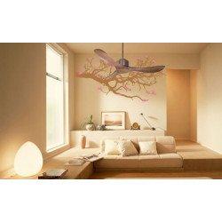 KlassFan - Ventilador moderno DC para espacios de 25 a 40 m². Muy silenciosos, recomendado para habitaciones y salones